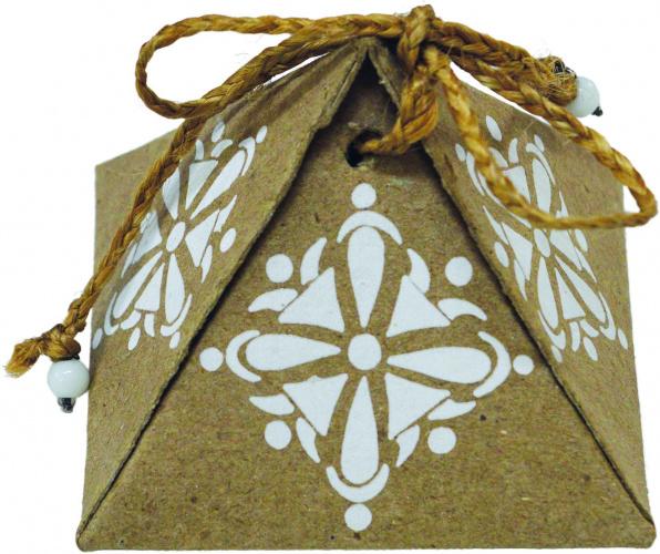 Boîte cadeau Pyramide