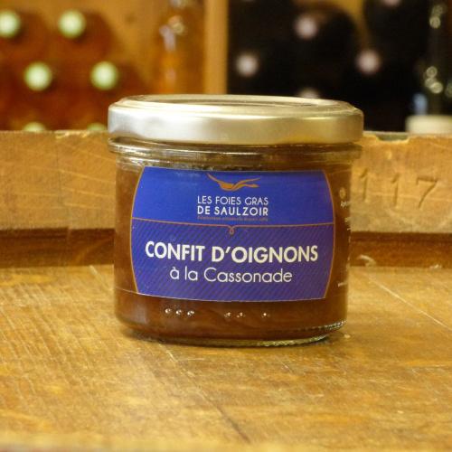Confit d'Oignons à la Cassonade 90 g