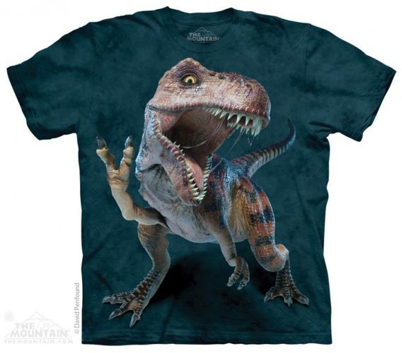 T-Rex Pacifique - T-shirt Dinosaure The Mountain