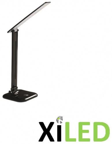 Lampe de bureau LED-9w-blanc neutre-variable noir laqué