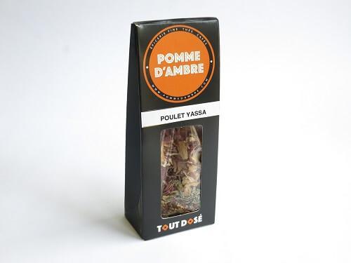 Epices Tout Dosé mélange d'épices pour Poulet Yassa