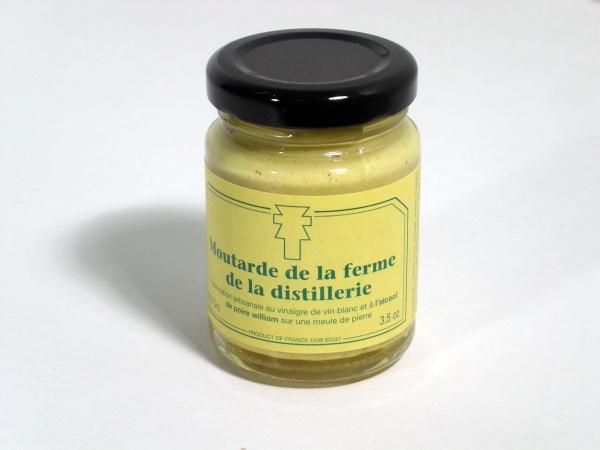 Moutarde du Vexin à l'alcool de poire 100g