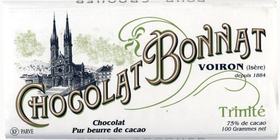 Tablette chocolat noir Trinité 100g