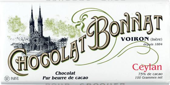 Tablette chocolat noir Ceylan 100g