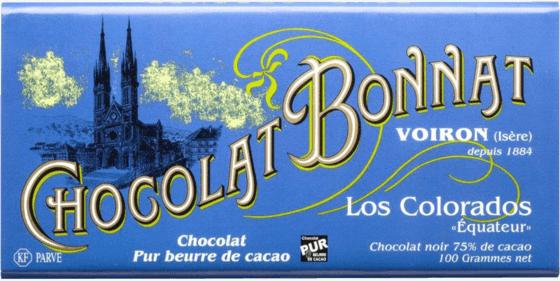 Tablette chocolat noir Los Colorados (Equateur) 100g