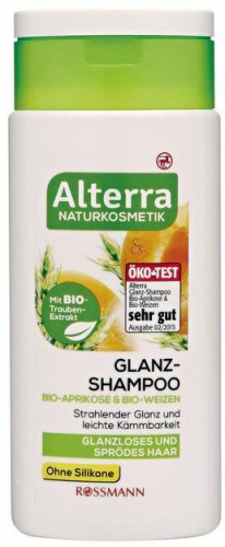 Shampoing Glanz Abricot Blé - ALTERRA