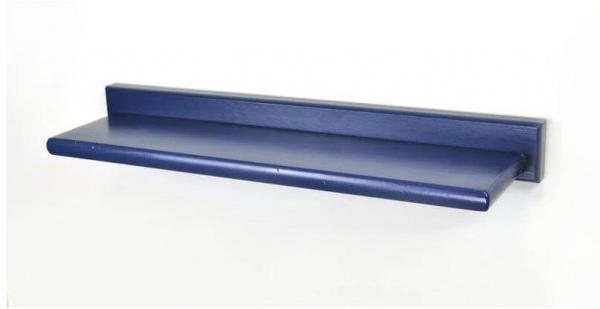 Tablette bois bleu bleu foncé - abc meubles