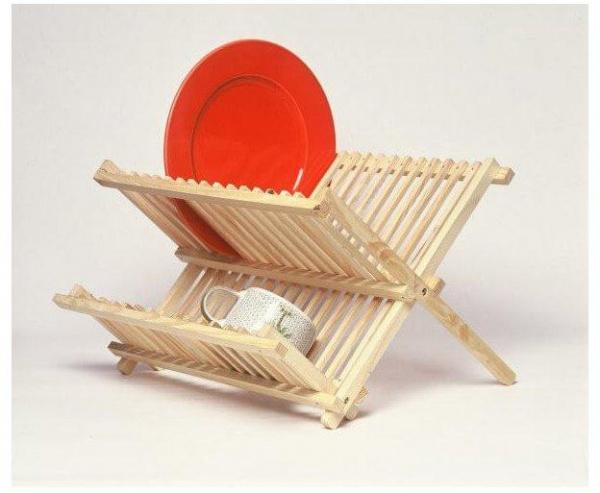 Égouttoir à vaisselle bois - abc meubles