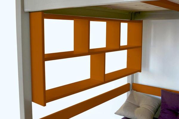 Étagère murale chocolat largeur 90 - abc meubles