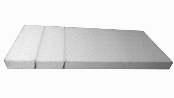 Matelas mousse pour lit évolutif en trois parties - 12 cm - abc meubles