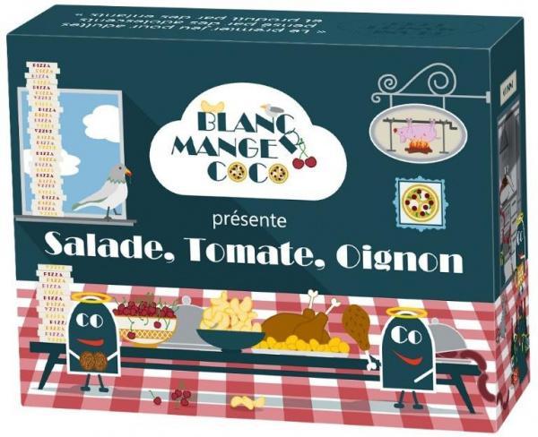 Blanc Manger Coco - Salade, Tomate, Oignon