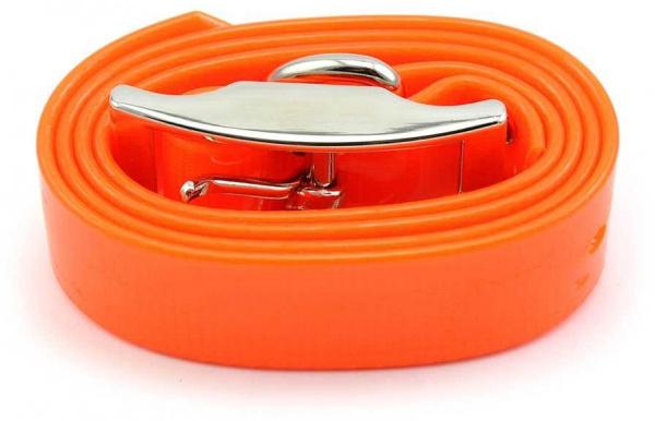 Sangle TPU Orange pour collier de dressage