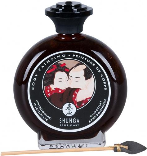 Peinture pour le corps chocolat Shunga 100 ml