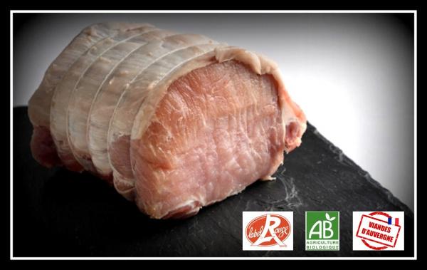 Rôti de Longe de Porc - 500gr
