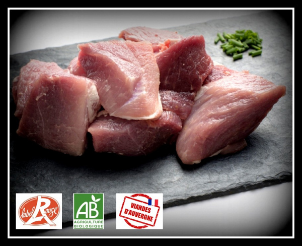 Sauté de porc -1kg