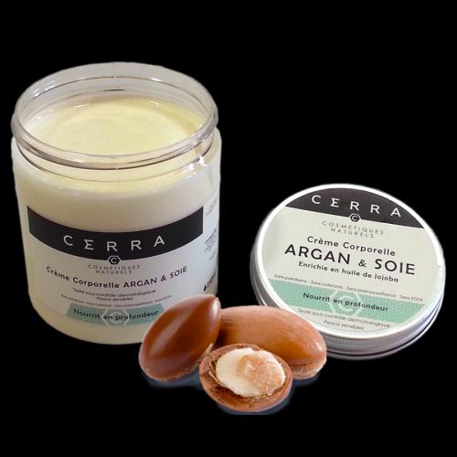 CERRA crème corporelle argan et soie