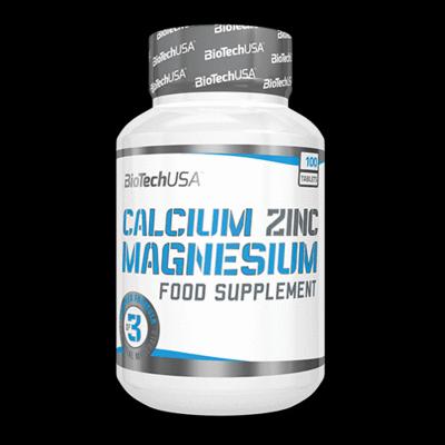 Calcium Zinc Magnesium - 100 comprimés