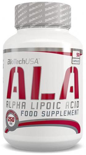 ALA 50 capsules - Acide Alpha-Lipoïque