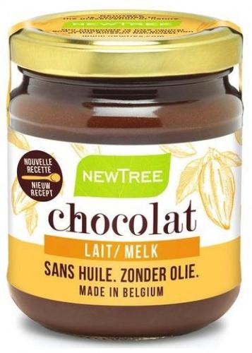 Newtree pâte à tartiner pleasure lait 250 gr