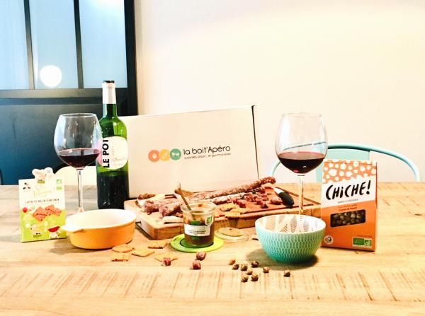 La Boit'Apéro : la box apéro vin & gourmandises