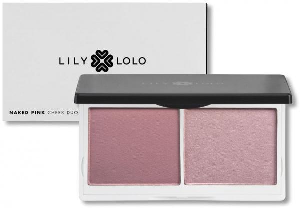 Kit de blush Cheek duo Lily Lolo - ROSE