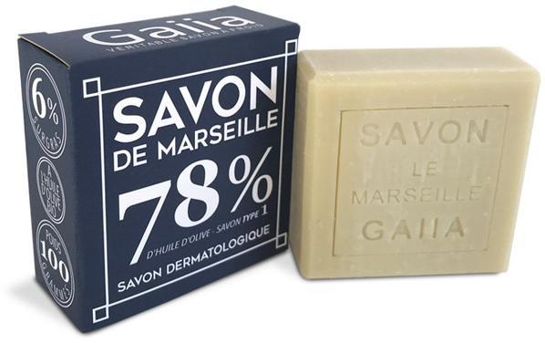 SAVON DE MARSEILLE / PUR OLIVE / 100 GR