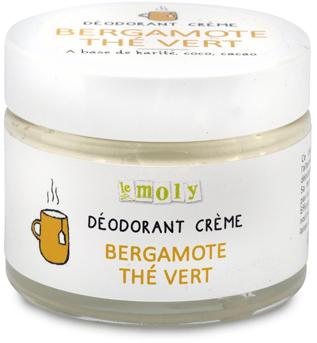 Déodorant crème Bergamote Thé Vert - Sans bicarbonate de soude - Bio & Vegan