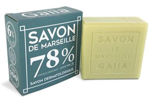 SAVON DE MARSEILLE / OLIVE - COCO - CHANVRE / 100GR