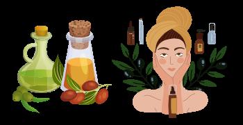 comment appliquer huile végétale peau