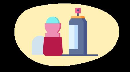 déodorants avec sels d'aluminium
