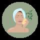 appliquer huile de jojoba sur la peau
