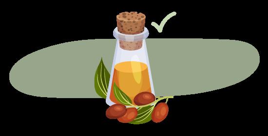 huiles végétales non comédogènes adaptées