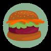 ingrédients burger vegan