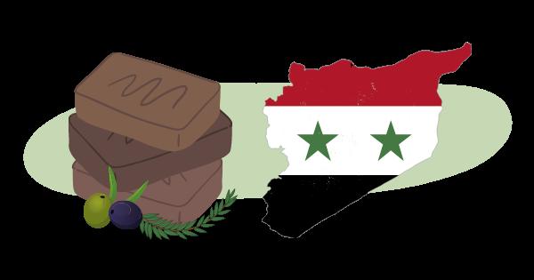 savon d'Alep Syrie origines