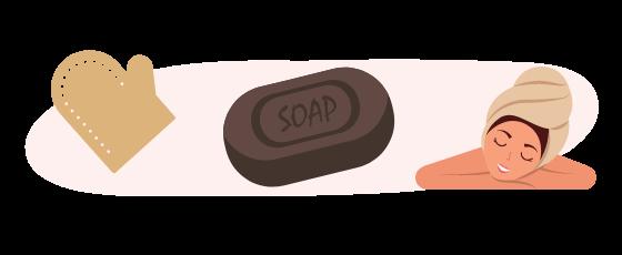 savon noir cométique soin peau