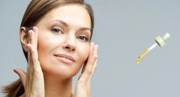sérum visage peau mature