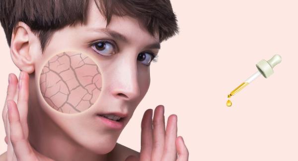 sérum visage peau sèche