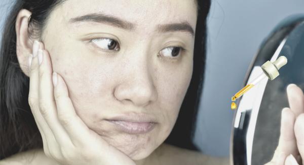 sérum visage peau terne