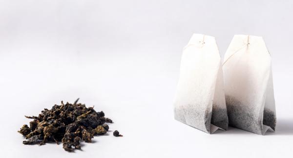thé en vrac et sachet